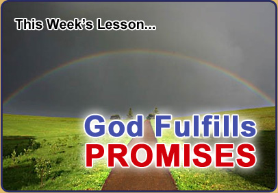 God Fulfills Promises